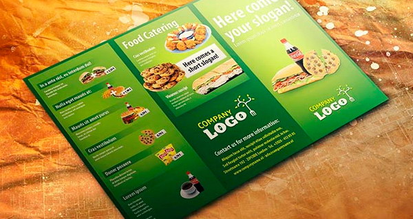 Free Brochure Templates For Download Hative - Food brochure templates