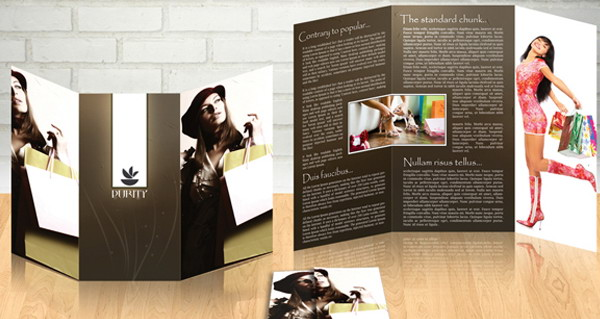 free fashion brochure template