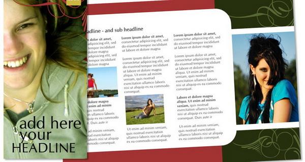 free tri fold brochure template coreldraw