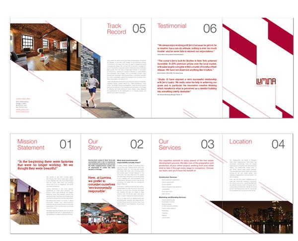 30 Real Estate Brochure Designs for Inspiration Hative – Property Brochure