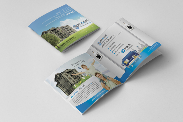 Real Estate Brochure Designs For Inspiration Hative - Mini brochure template