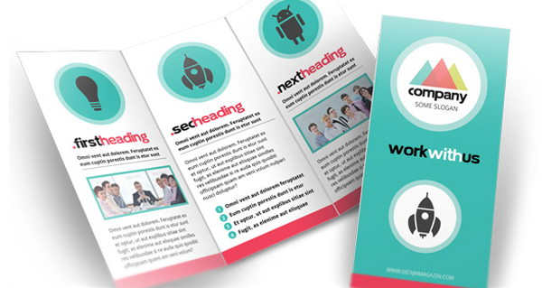 simple modern free brochure template