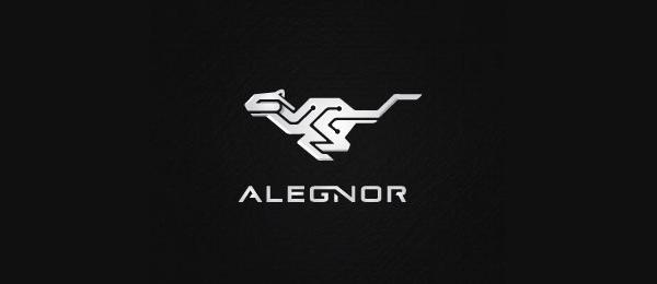 animal logo alegnor