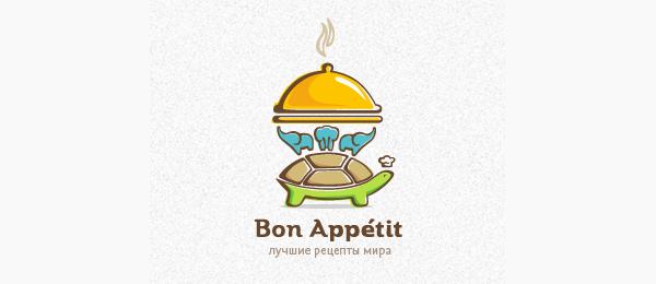 animal logo bon appetit