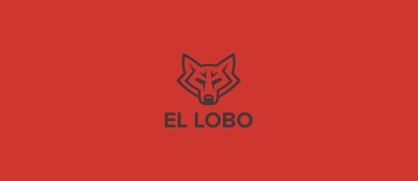 animal logo el lobo