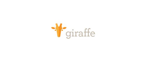 animal logo giraffe