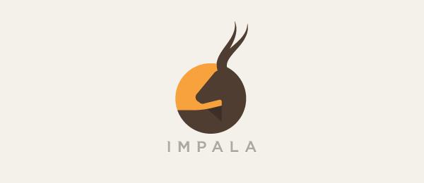 animal logo impala