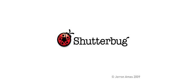 animal logo shutterbug