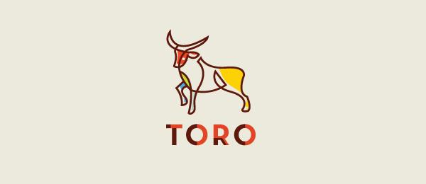 animal logo toro bull