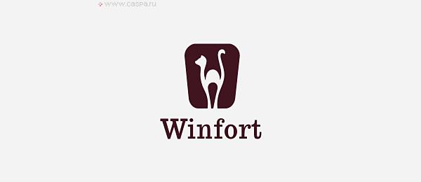 animal logo winfort