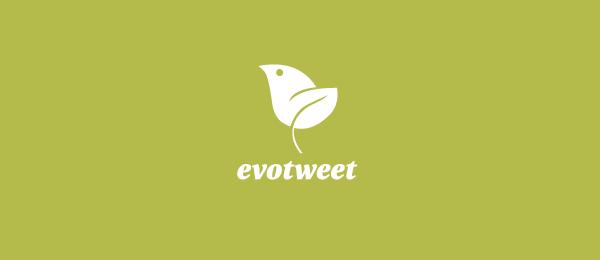 bird logo evotweet