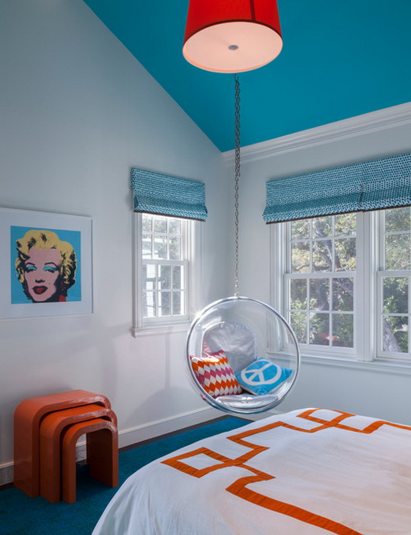 Contemporary Girls Bedroom Decorating