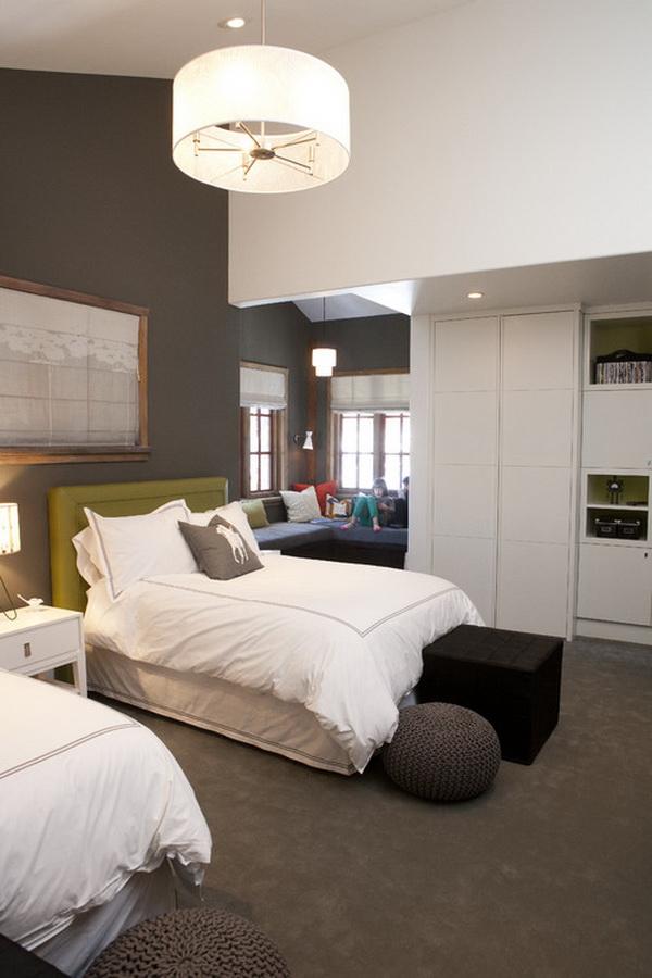 Contemporary Girls Bedroom Design