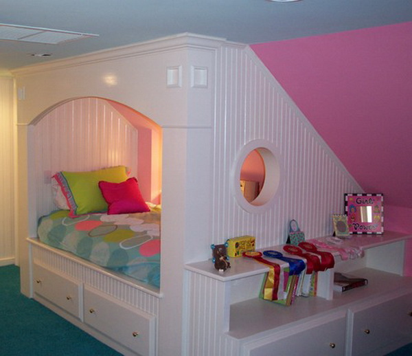 Contemporary Teenage Girl Bedroom Ideas