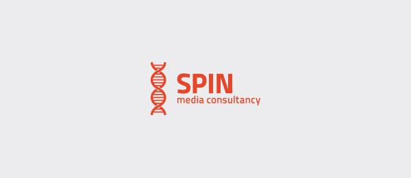 dna logo spin