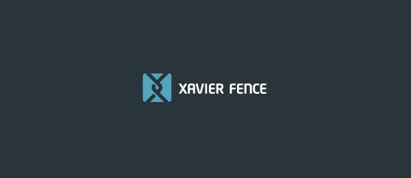 dna logo xavier fence