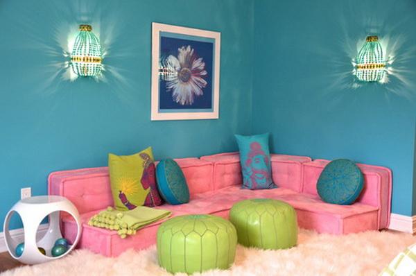 Fairy Tale Girl Bedroom Design