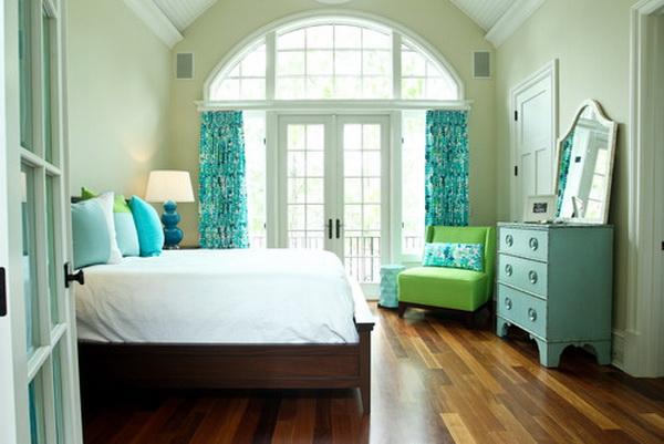 Green Girls Bedroom