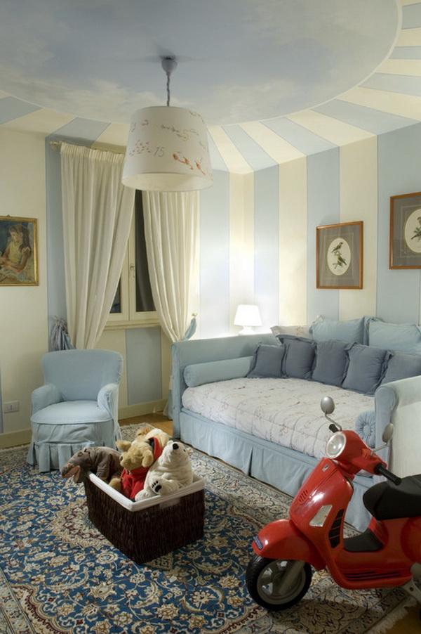 Italian Style Girls Bedroom Design