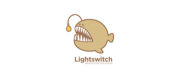 lightswitch animal logo design