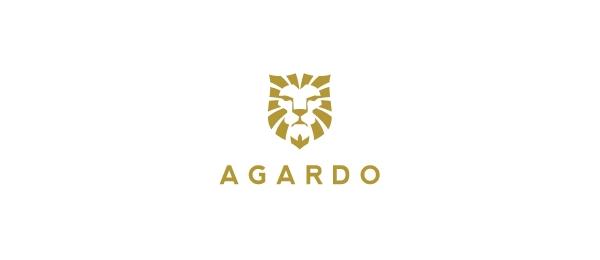 lion logo agardo