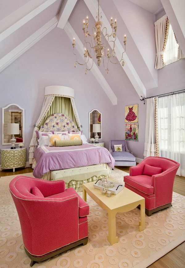 Luxury Romantic Bedrooms: 50 Cool Teenage Girl Bedroom Ideas Of Design