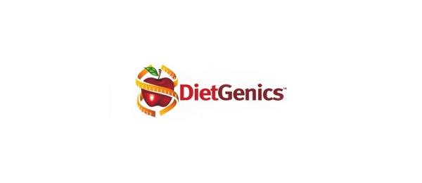 nutrition consultant logo diet genics