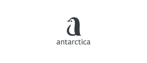 penguin logo antarctica