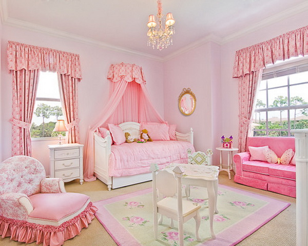 50 cool teenage girl bedroom ideas of design hative 16720 | pink teenage girl bedroom idea 2842