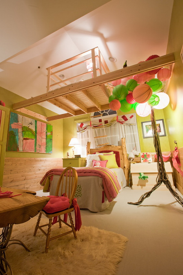 50 Cool Teenage Girl Bedroom Ideas of Design - Hative
