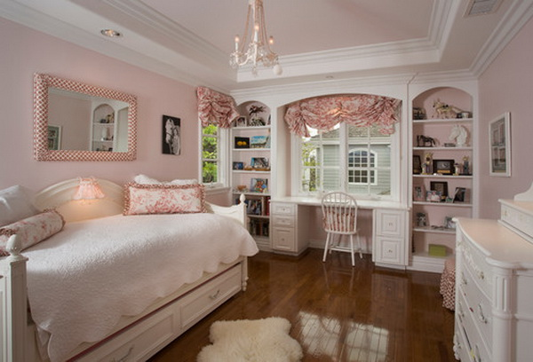50 Cool Teenage Girl Bedroom Ideas of Design - Hative on Beautiful:9Ekmjwucuyu= Girls Room Decoration  id=32843