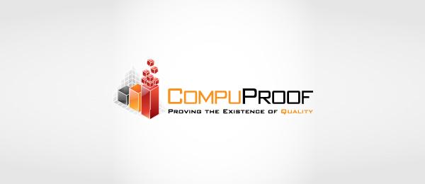 3d logo compuproof