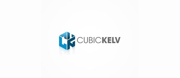 3d logo cubic kelv