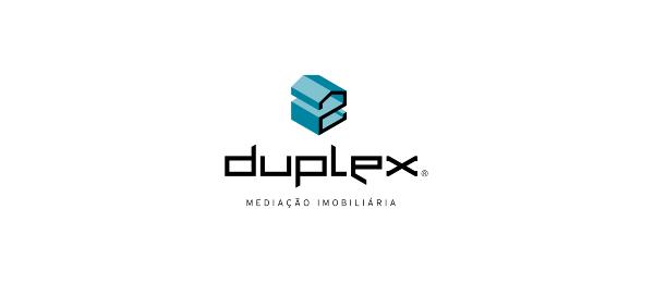3d logo duplex typography