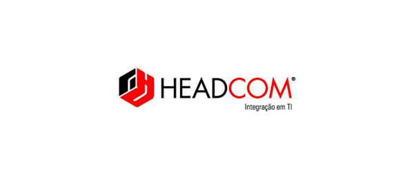 3d logo headcom