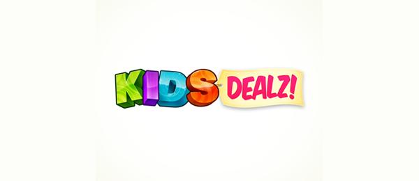 3d logo kids dealz