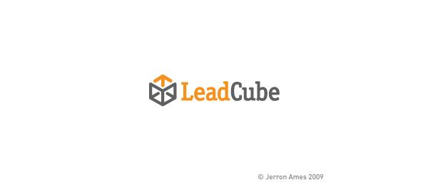 3d logo lead cube