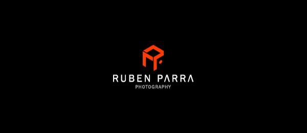 3d logo r p typo