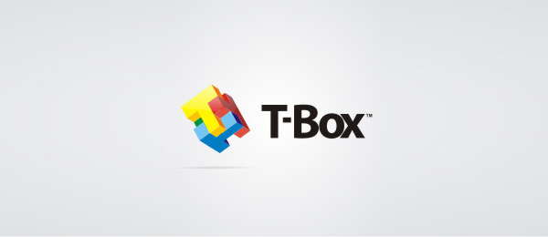 3d logo t box