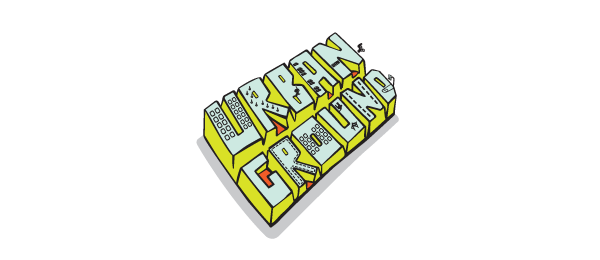 3d logo typography
