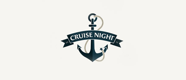 anchor logo cruise night
