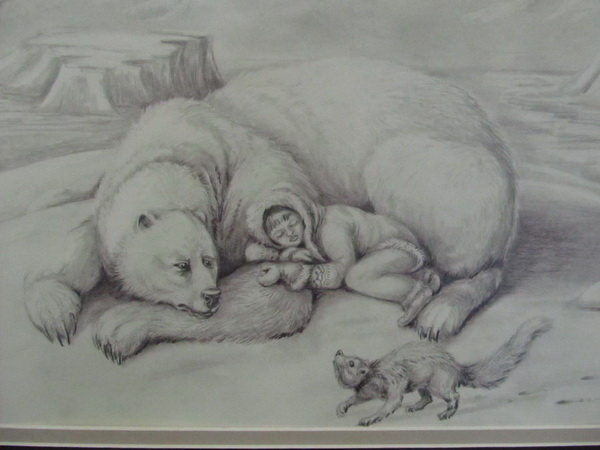 how to draw a grolar bear