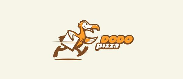 bird logo dodo pizza