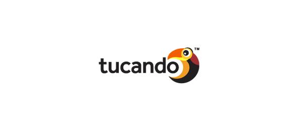 bird logo letter o