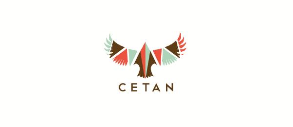 bird logo native hawk