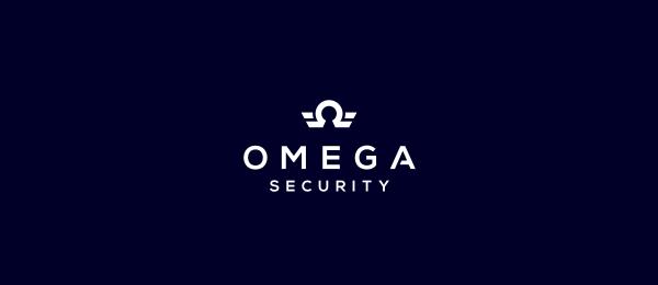 bird logo omega security