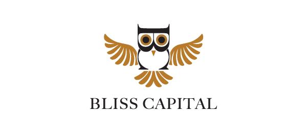 bird logo owl bliss capital