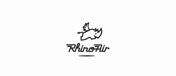 black and white logo pig