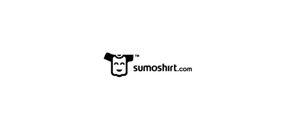 black and white logo shirt