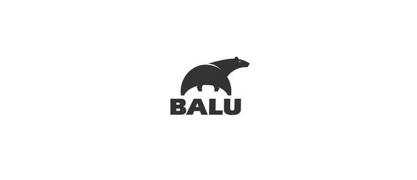 black bear logo balu